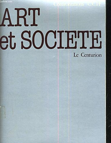"Art et societe (""Recherches et debats"") (French Edition): n/a"