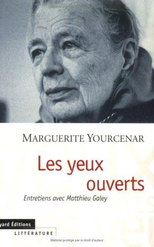 9782227137219: Les Yeux ouverts : Entretiens avec Matthieu Galey
