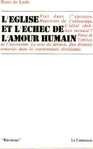 9782227202061: Les couples et l'Église: Chronique d'un témoin (Amour humain ; 7-) (French Edition)