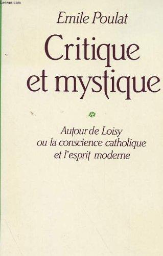 9782227310575: Critique et mystique
