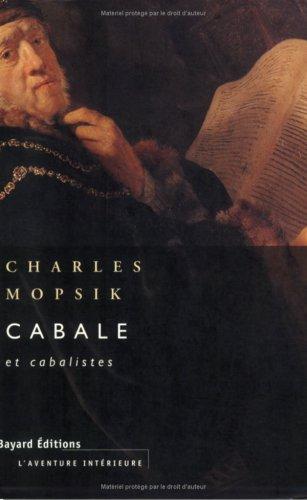 9782227325111: Cabale et cabalistes (L'Aventure intérieure) (French Edition)
