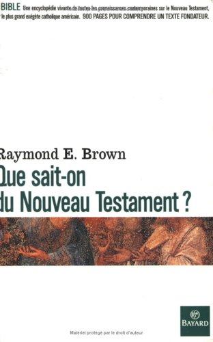 9782227350205: Que sait-on du Nouveau Testament ?
