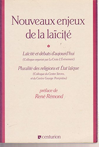 9782227365018: Nouveaux enjeux de la laïcité : Laïcité et débats d'aujourd'hui, [actes du] colloque, [Paris, 22 avril 1989]