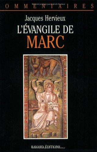 9782227366015: L'Evangile de Marc: Commentaire pastoral (Commentaires) (French Edition)