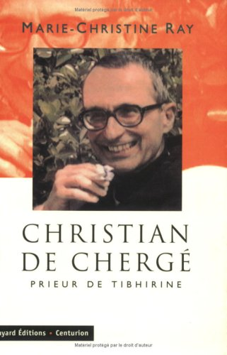 9782227436657: Christian de Chergé: Prier de Tibhirine