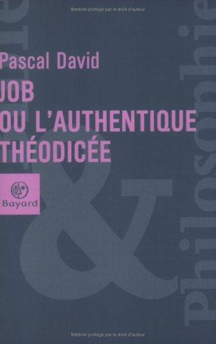9782227470286: Job : Ou l'authentique th�odic�e