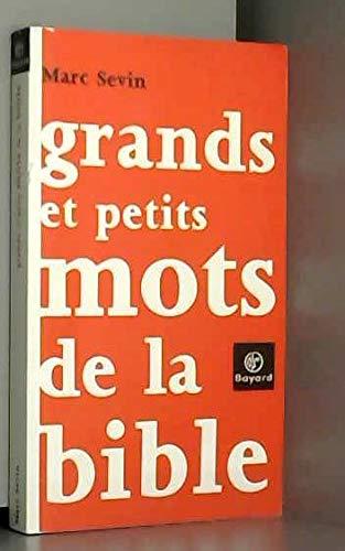 9782227472655: Grands et petits mots de la Bible (French Edition)