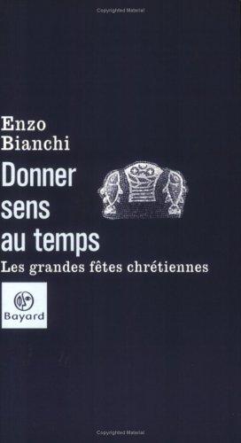 9782227473072: Donner sens au temps (French Edition)