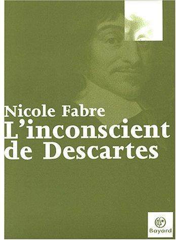 9782227473096: L'Inconscient de Descartes