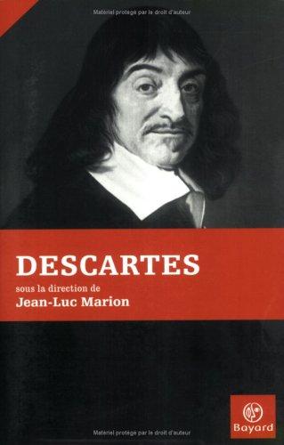 Descartes: Marion, Jean-Luc (Sous la Direction de)