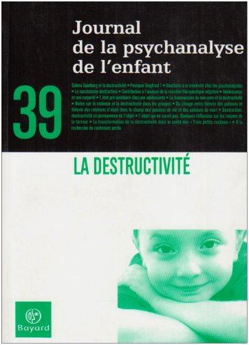 Journal de la psychanalyse de l'enfant, N°: Collectif