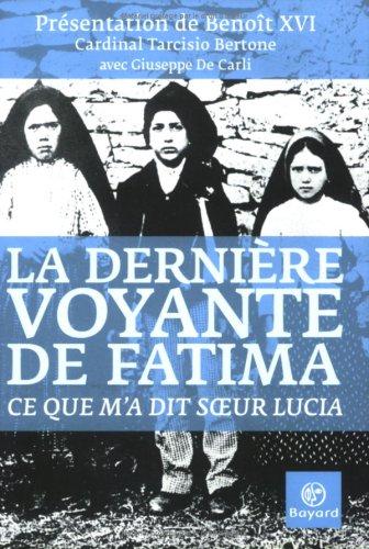 9782227477605: La dernière voyante de Fatima (French Edition)