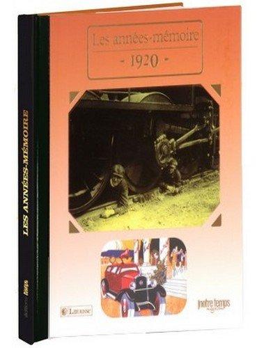 9782227485389: 1920 Les Années-Mémoire