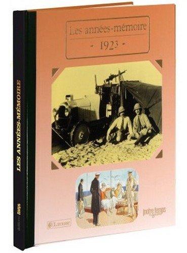 9782227485419: 1923 Les Années-Mémoire