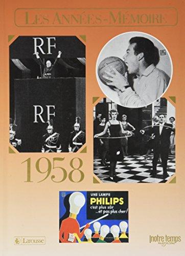 9782227485761: 1958 Les Années-Mémoire