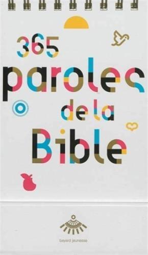 9782227485907: 365 paroles de la Bible