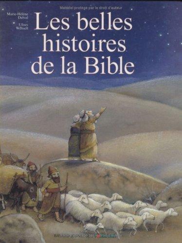9782227602373: Les belles histoire de la bible