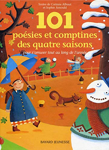 101 poesie et comptines des 4 saisons