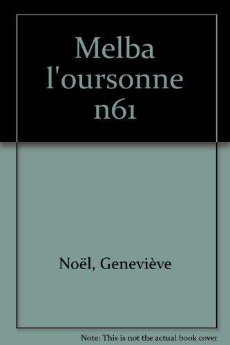 9782227721777: Melba l'oursonne