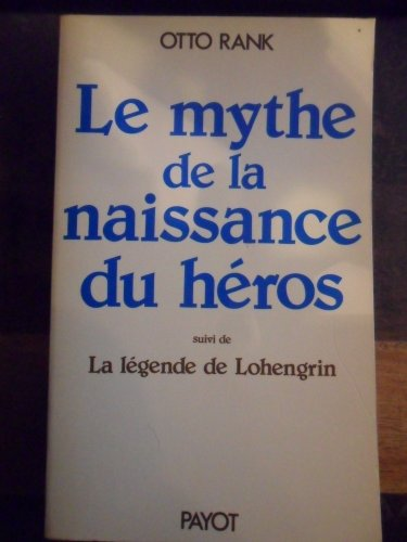 9782228222303: Le mythe de la naissance du h�ros