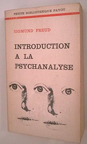 9782228300605: Introduction à la psychanalyse