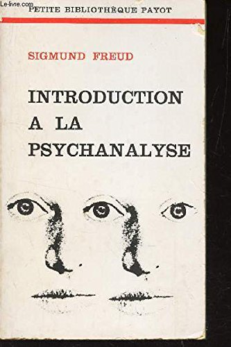 9782228300698: Introduction a la psychanalyse