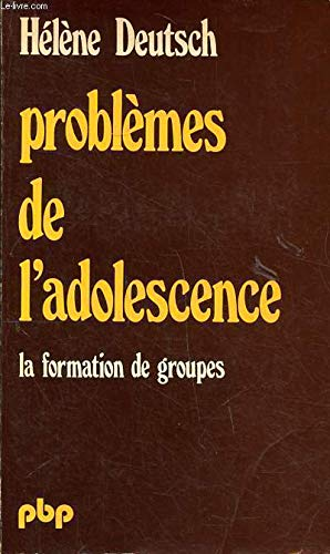 9782228315326: Problemes de l'adolescence