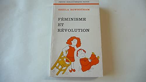9782228322904: Feminisme Et Revolution