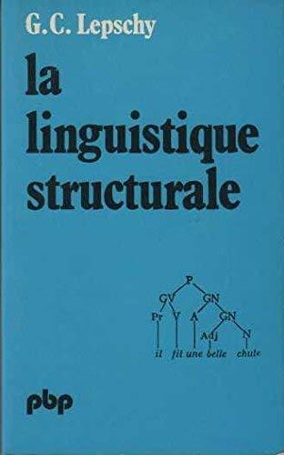 9782228329606: La linguistique structurale -traduit de l'italien par Louis-Jean Calvet