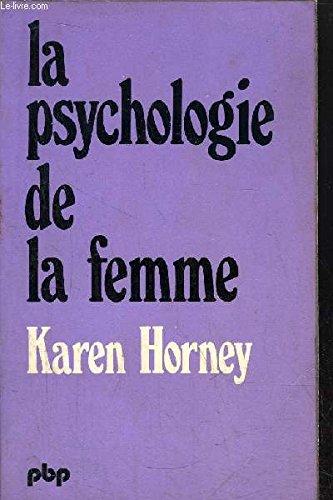 9782228333207: La Psychologie de la femme