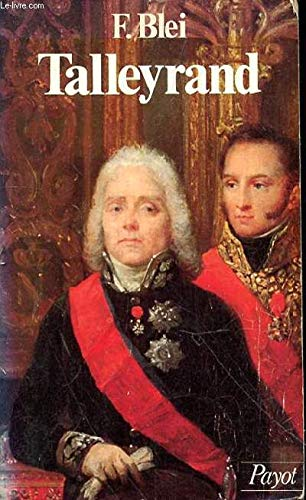 9782228701501: Talleyrand: Homme d'�tat
