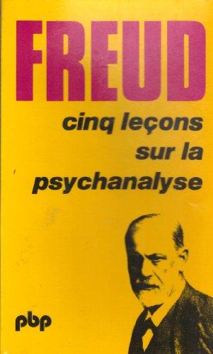 9782228800907: Cinq leçons sur la psychanalyse