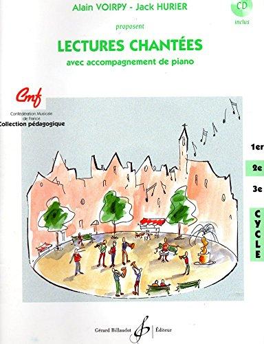 9782228845519: Lectures Chant�es - deuxi�me cycle