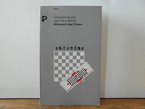 9782228881036: Almanach des échecs: Informations 1988