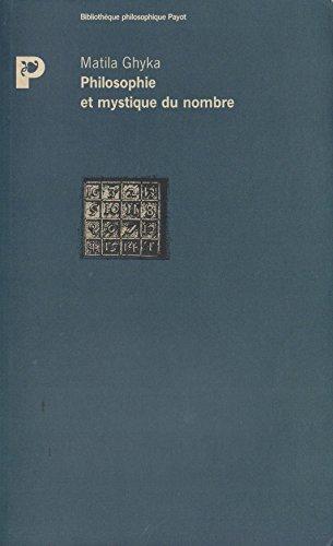 9782228881661: Philosophie et mystique du nombre (Bibliothèque philosophique Payot) (French Edition)