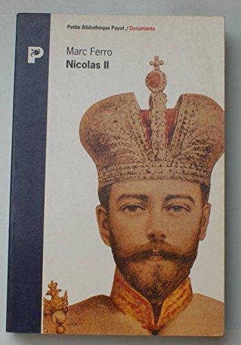 9782228884037: Nicolas II (Petite Bibliothèque Payot)