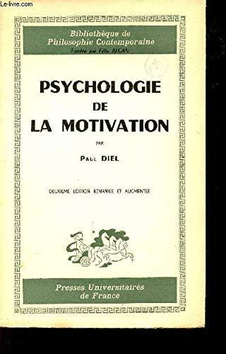 9782228884457: Psychologie de la motivation