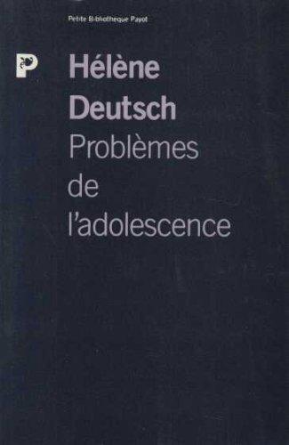 9782228884464: Problèmes de l'adolescence