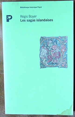 9782228884686: Les sagas islandaises (Bibliothèque scientifique)