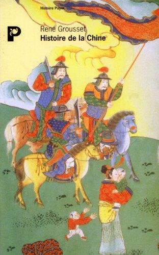 9782228887496: Histoire de la Chine : Des origines à la seconde révolution