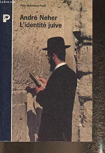 9782228888110: L'identit� juive