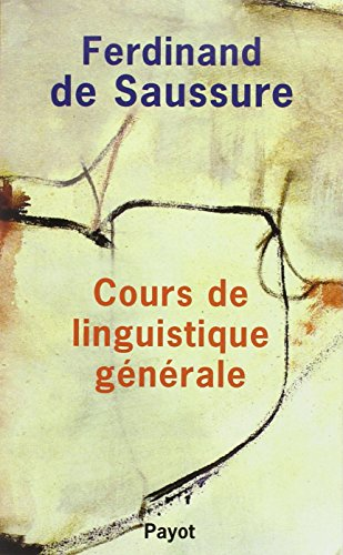 9782228889421: Cours de linguistique générale