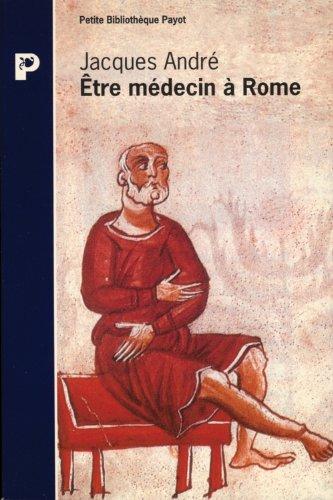 9782228889476: Etre m�decin � Rome