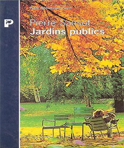 9782228889483: Jardins publics
