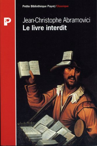 9782228890533: Le livre interdit : De Th�ophile de Viau � Sade