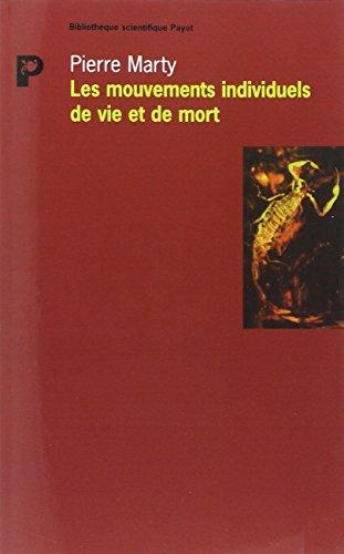 MOUVEMENTS INDIVIDUELS DE VIE ET DE MORT: MARTY PIERRE