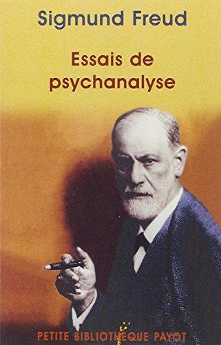 9782228893992: Essais de psychanalyse