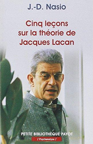 9782228894043: Cinq leçons sur la théorie de Jacques Lacan