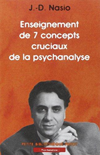 9782228894098: Enseignement des 7 concepts cruciaux de la psychanalyse