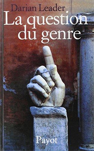 9782228894739: La question du genre (Essais)